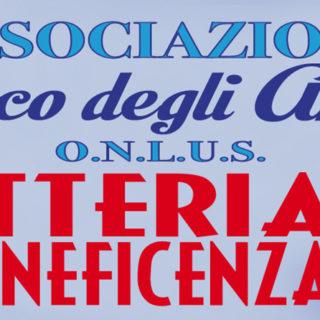 lotteria beneficenza 2018 - Parco degli Angeli Onlus