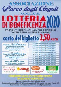 lotteria beneficenza parco degli angeli onlus